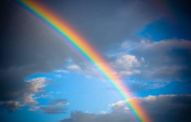 Rainbow Wall Sky